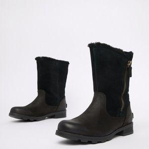 Sorel Emeliea Fold-Over Ankle Boot
